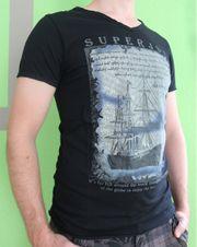 Herren Kurzarm Shirt