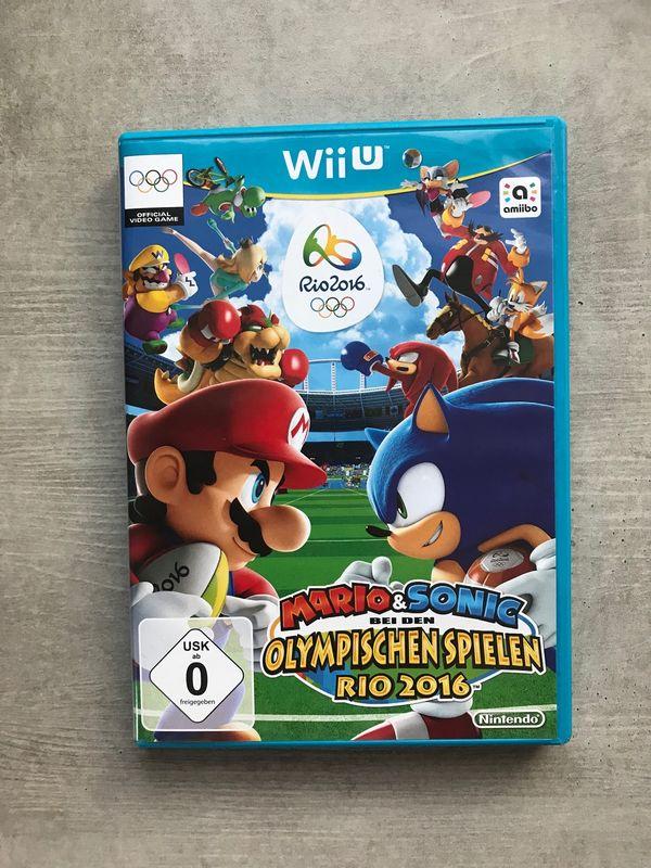 Mario&Sonic bei d. Olympischen Spielen Rio 2016 - Mauer - Verkaufe voll funktionstüchtiges Spiel Mario&Sonic bei d. Olympischen Spielen Rio 2016 für Wii U - Mauer
