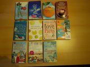 diverse Taschenbücher, Liebesromane