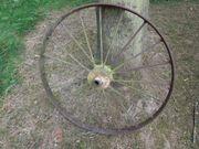 Heumaschinen Metallspeichenrad