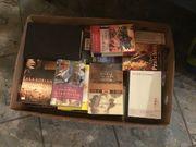 Kiste mit Büchern