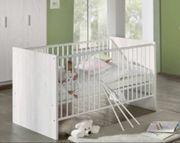 Baby wiege stubenwagen set mit matratze himmel bettwäsche nestchen