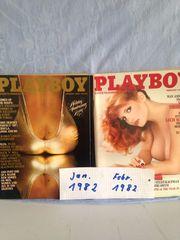 Play Boy Hefte aus USA