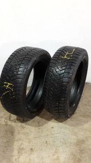 2 gebrauchte Allwetter Reifen 225
