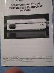 Folienschweiss-Automat FO