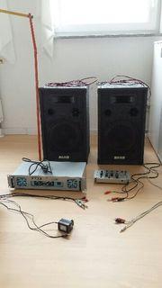 DJ- Set, Veranstaltungstechnik