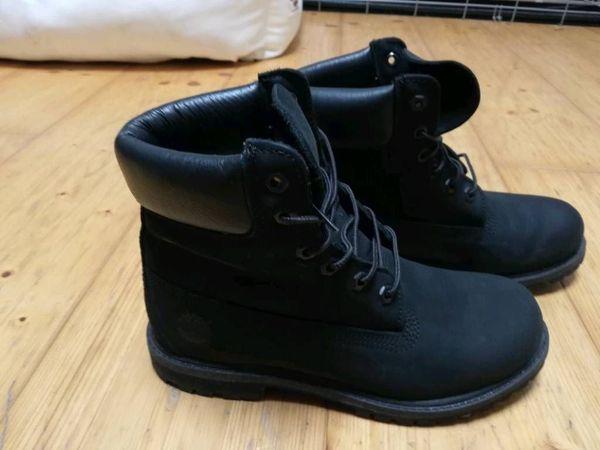 Schwarze Timberland Boots Gr. 40 in Brunnthal Schuhe
