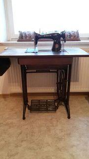 singer naehmaschine antik in n rnberg sammlungen. Black Bedroom Furniture Sets. Home Design Ideas