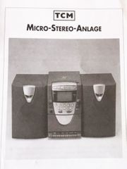 TCM Micro Stereo-Anlage