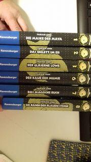 6 Bände Die Schatzjäger - Fabian