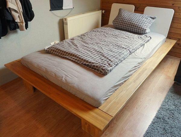 Massivholzbett 120x200 In Eppelheim Betten Kaufen Und Verkaufen
