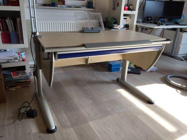 Kinder Jugend Schreibtisch Von Moll Modell Runner Classic In Ahorn