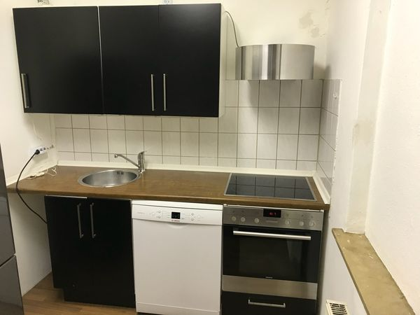 Ikea Kuche Schwarz Matt In Stuttgart Kuchenzeilen Anbaukuchen