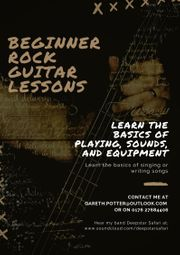 Beginner Rock Guitar and Bass