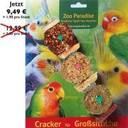 5 Futterspielzeug Sticks für Großsittiche