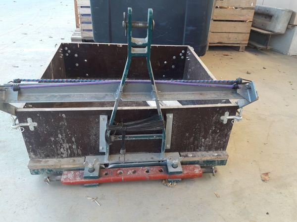 Heckcontainer Ladeprische Transportgestell