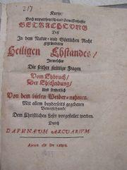 Daphnaeus Arcuarius Lorenz Beger 1679 -