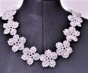 Perlenkette Fiore bianco -neu-