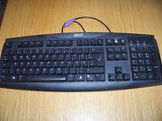 Pc Tastatur in schwarz