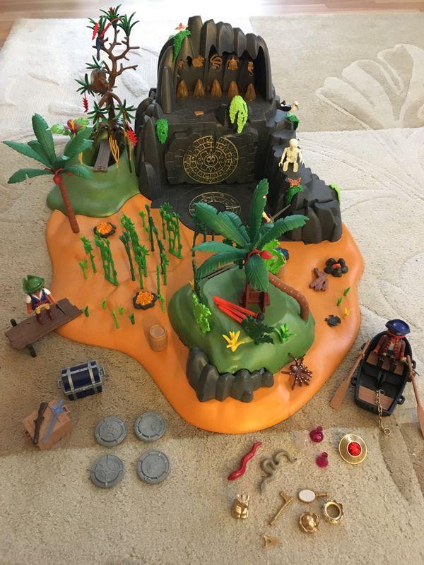 Playmobil Abenteuerschatzinsel In Mannheim Spielzeug Lego