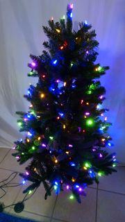 Weihnachtsbaum mit 7 Farb- und