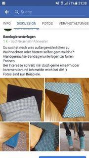 Bandagierunterlagen zu verkaufen
