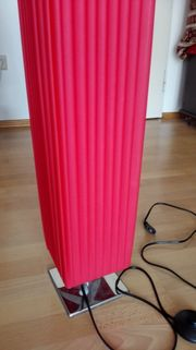 Stehlampe rot