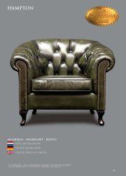 Chesterfield Ledersessel Qualität Eleganz