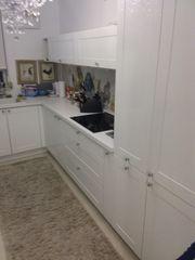 morderne Küche weiß inkl Geräte