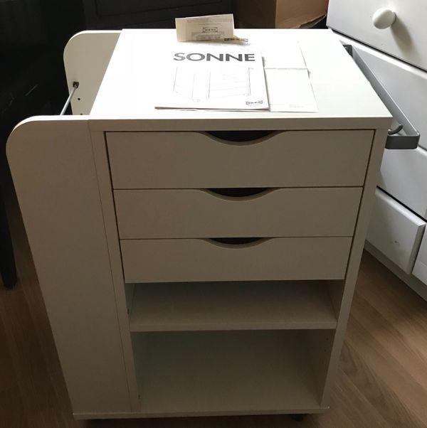 IKEA Rollcontainer SONNE weiß gebraucht kaufen  82152 Planegg