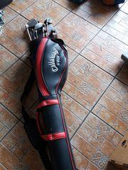 Golfschläger im Bag