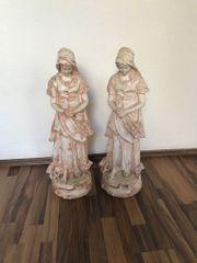 Gipsfiguren betende Frau