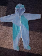 Baby-Overall blau Größe bis 3