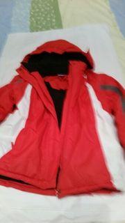Jacke mit Abnehmbarer Mütze