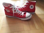 Converse Chucks hoch rot Gr