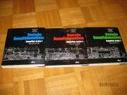 3 Bücher Deutsche Dampflokomotiven von