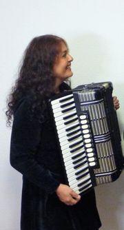 Musikalische Umrahmung Akkordeon von Vernissagen