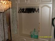 Geräumiger Garderoben und Schuhschrank -weiß
