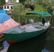 Angelboot mit führerscheinfreiem