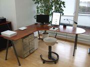 großer Eck- Schreibtisch