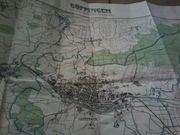 Alte Stadtkarte Göppingen