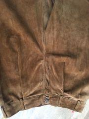braune Lederhose Wildlederhose Gr 42