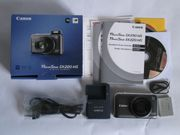 Canon Powershot SX220 HS grau