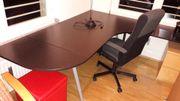 Eck Schreibtisch und