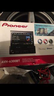 Pioneer ABH-6300BT USB SD Kart
