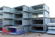 195qm KOMPLETTES Fassaden Baugerüst mit