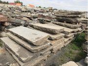 Alte Gredplatten Granitplatten Bodenplatten Antiker