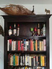 Bücherregal Massiv Holz Kolonialstil