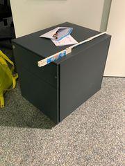 Rollcontainer Schreibtisch Ablage antrazith