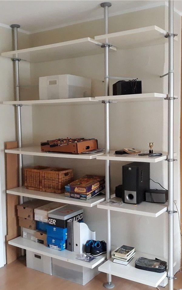 Ikea Galant Schreibtisch Stolmen Regal